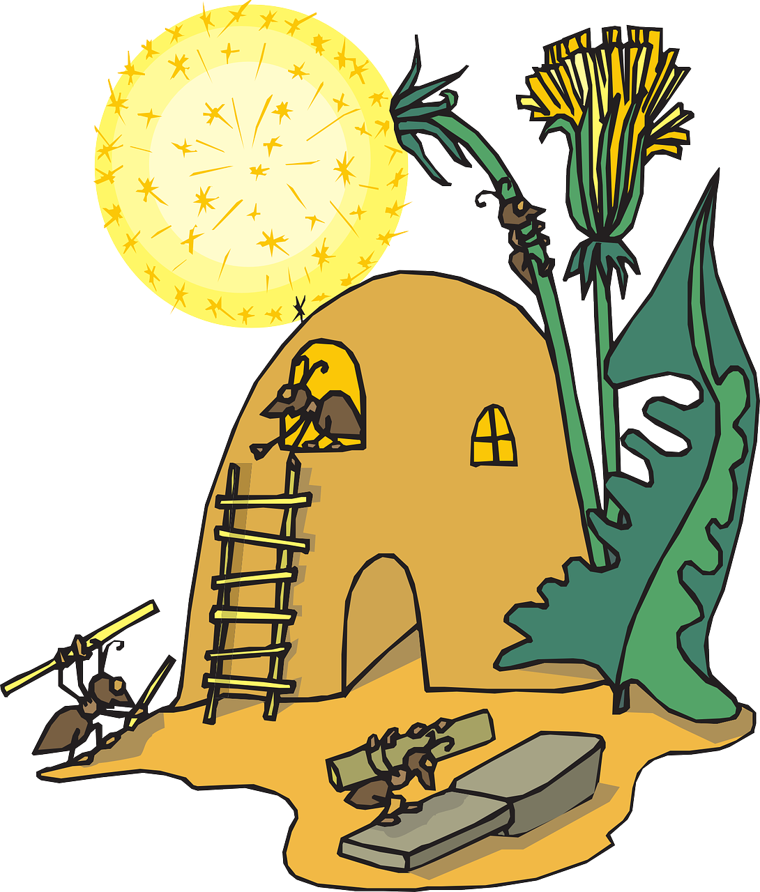 Ants clipart worker ant. Facts for kids cool