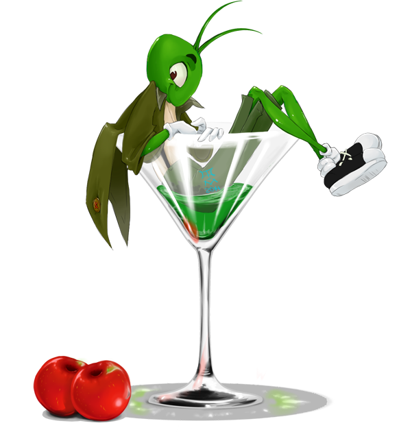 Grasshopper drink png. Cocktail by volkradugi on
