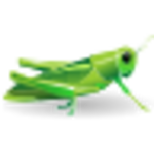 Grasshopper vector green. Free images at clker