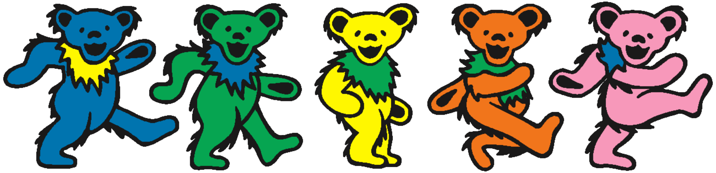 Grateful dead dancing bear png. After how much y