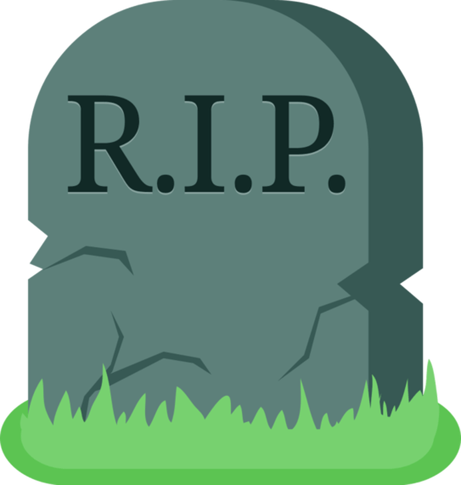 cemetery vector cartoon
