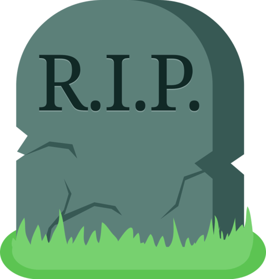 Transparent grave flower clipart. Free headstone cliparts download