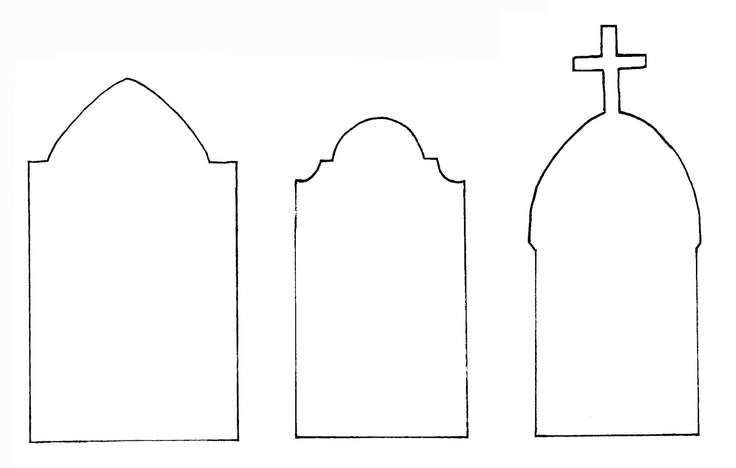 Tombstone clipart tombstone template. Printable images of cross