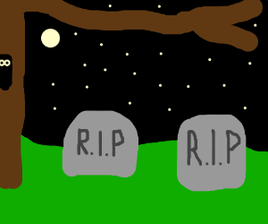 Grave clipart two grave. Graves at night drawing