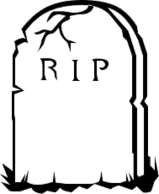 Graveyard clipart head stone. Headstone silhouette at getdrawings