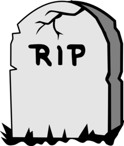 Tombstone clipart tombstone template. Rip gravestone clip art