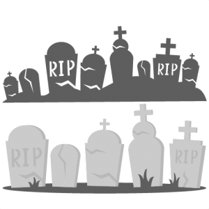 drawing halloween grave