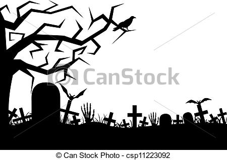 Cemetery illustrations and clip. Graveyard clipart svg transparent