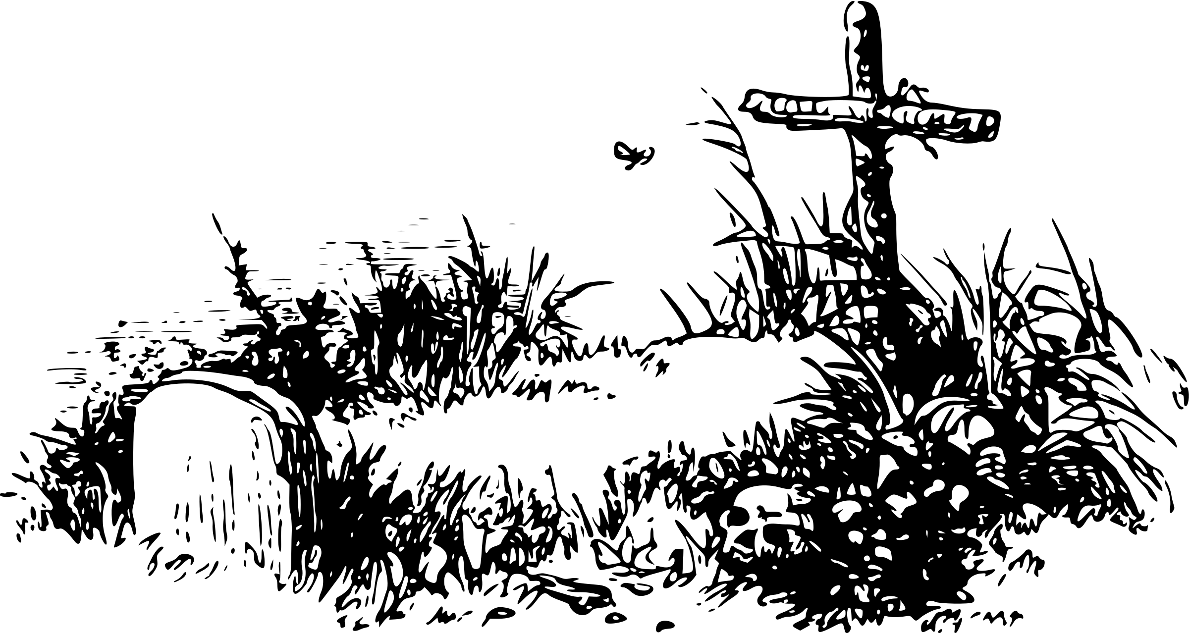Cemetery transparent png stickpng. Graveyard clipart clip art library library
