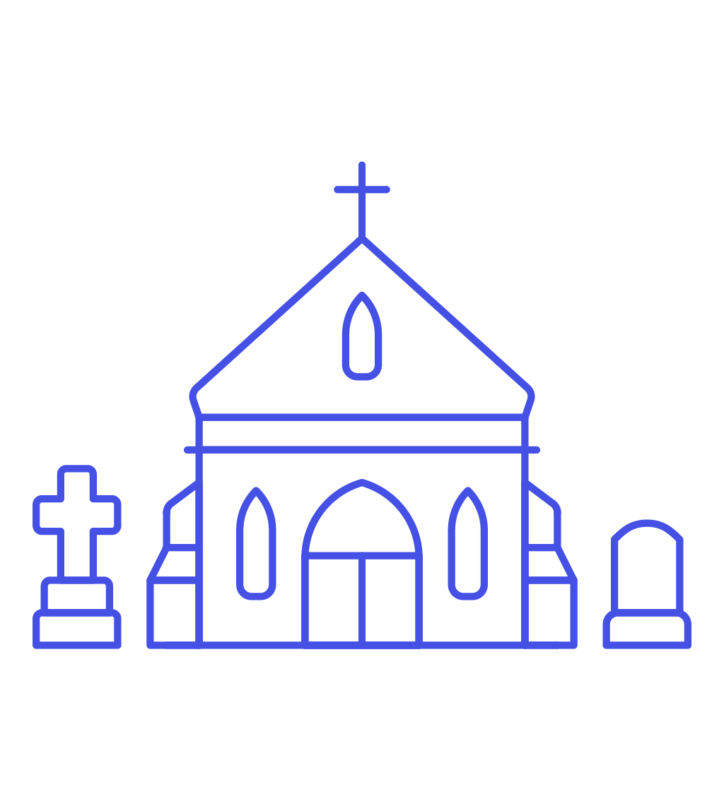 Graveyard clipart church cemetery. Transparent free icon image
