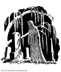 Graveyard clipart creepy graveyard. Coffin w cross halloween