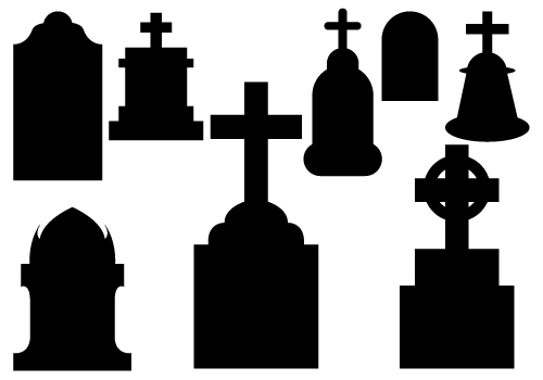 Graveyard clipart head stone. Tombstone cross pencil and