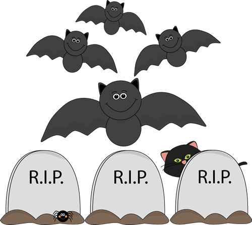 Halloween clipart cartoon. Basic scene