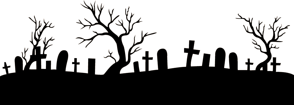 Graveyard silhouette png. Macbeth picture