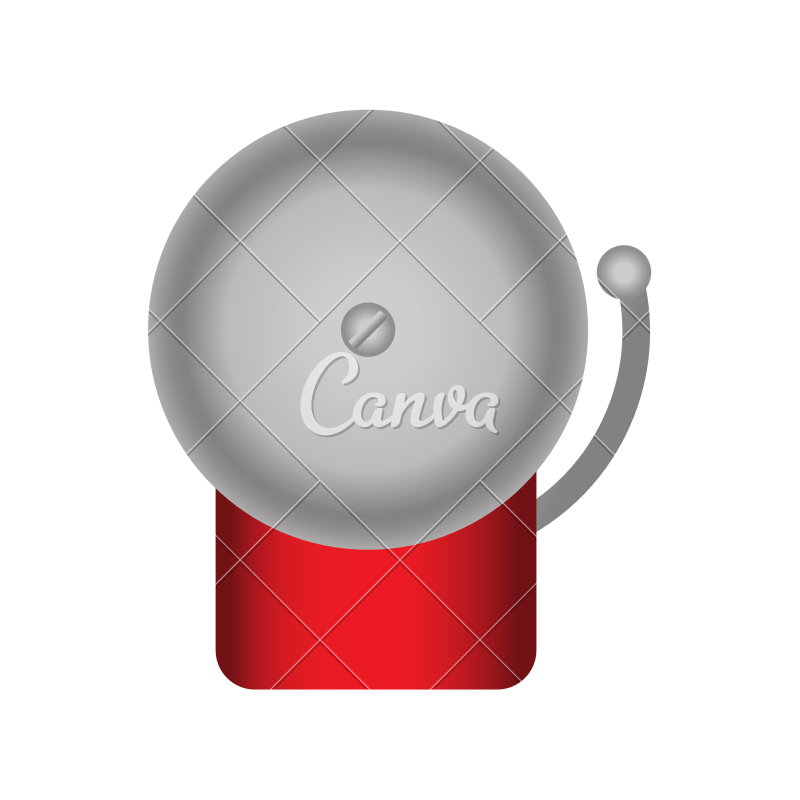 Gray bell icon png. Boxing icons by canva