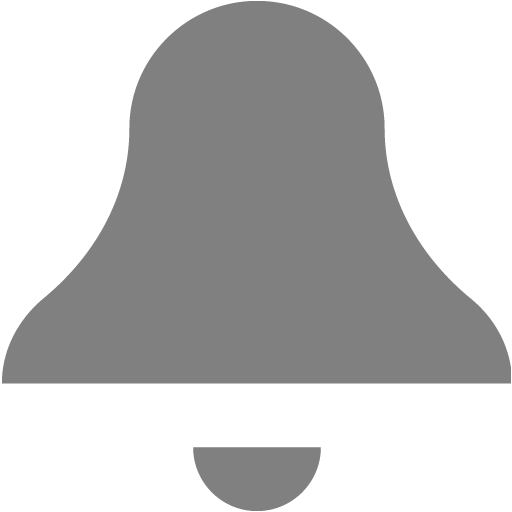 Gray bell png. Icon free icons