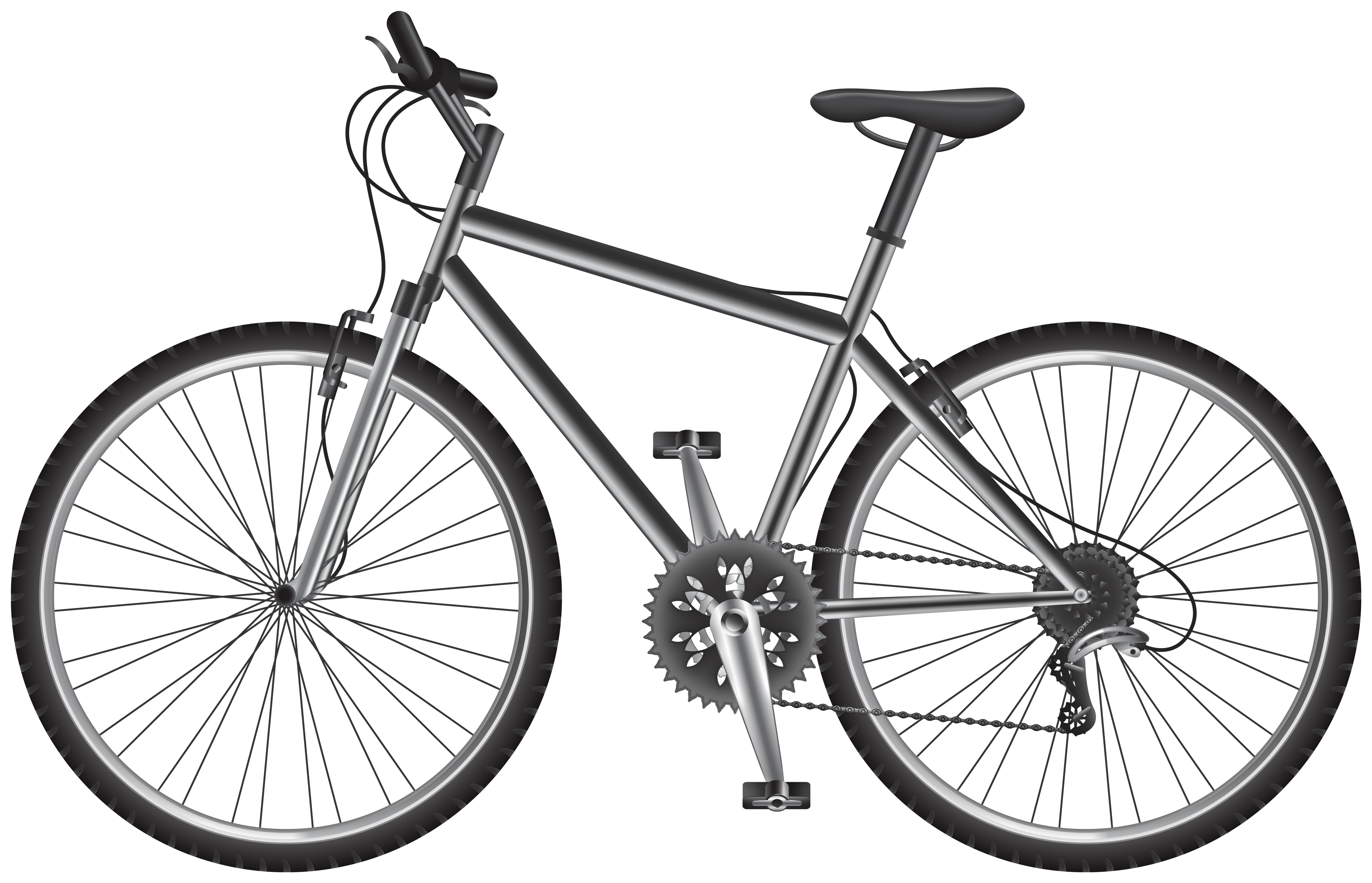 Gray bicycle. Png clip art best