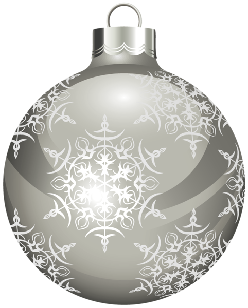 Gray christmas ornaments png. Gallery