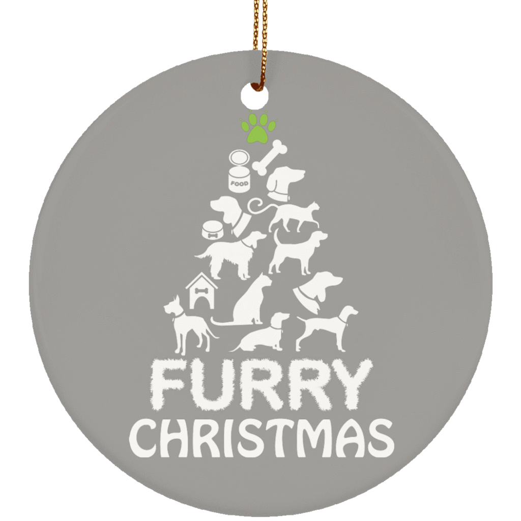 Gray christmas ornaments png. Furry sweaters the pug