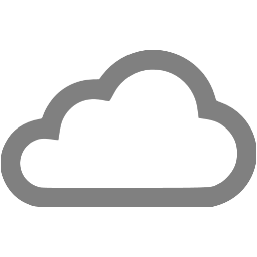 Gray clouds png. Icon free weather icons