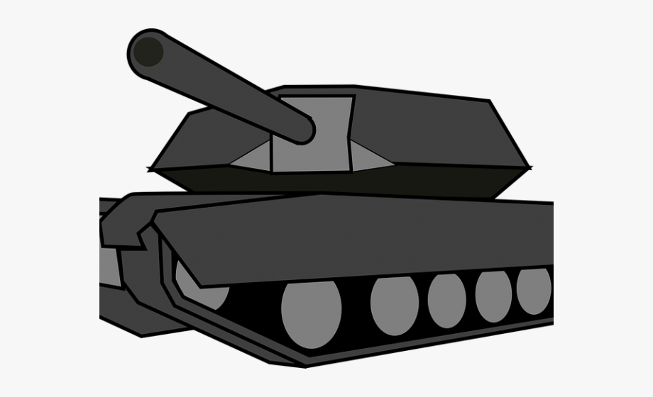 Gray tank. Clipart free cliparts on