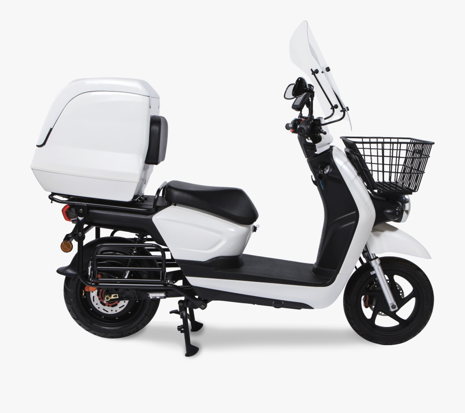 Gray scooter