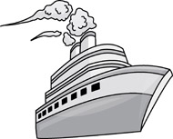 Gray ship. Search results for passenger