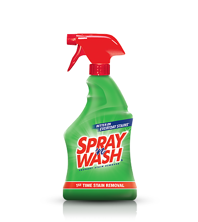 Grease stain png. Spray n wash laundry