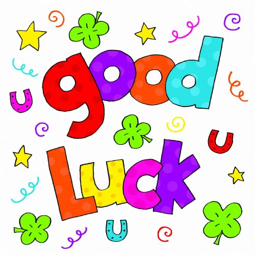 Good colorful text . Great clipart best luck graphic free library
