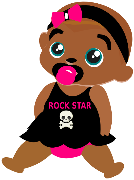 Free cliparts download clip. Rockstar clipart library rock clip black and white