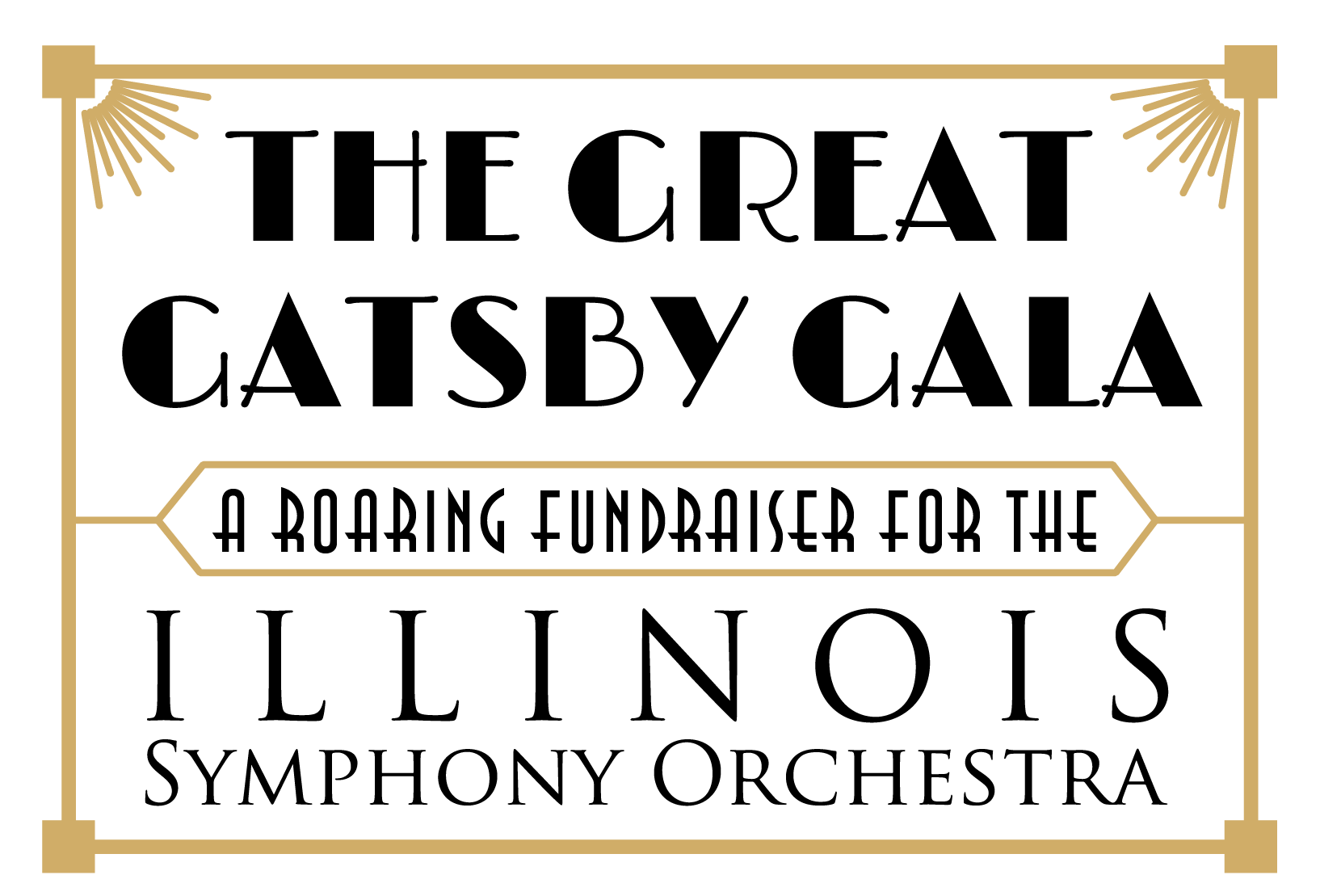 Great Gatsby Border Transparent Png Clipart Free Download Ya