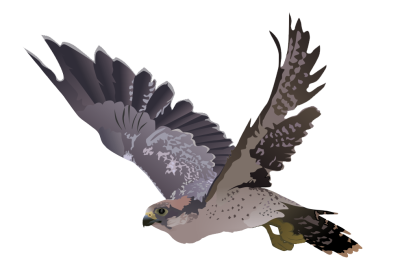Horned owl png. Great dlpng falcon picture