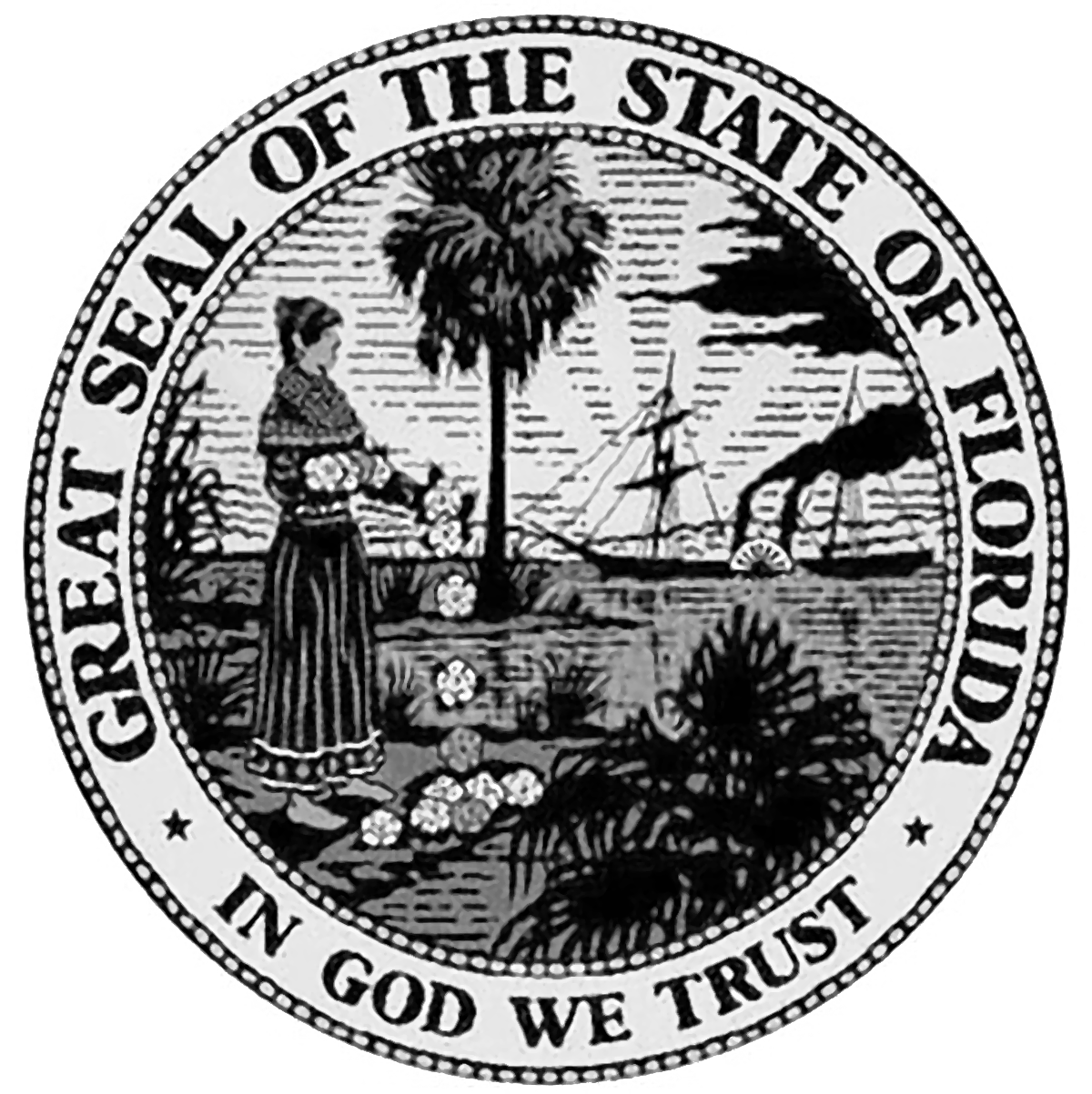 Great seal of florida png. Nice state coloring page