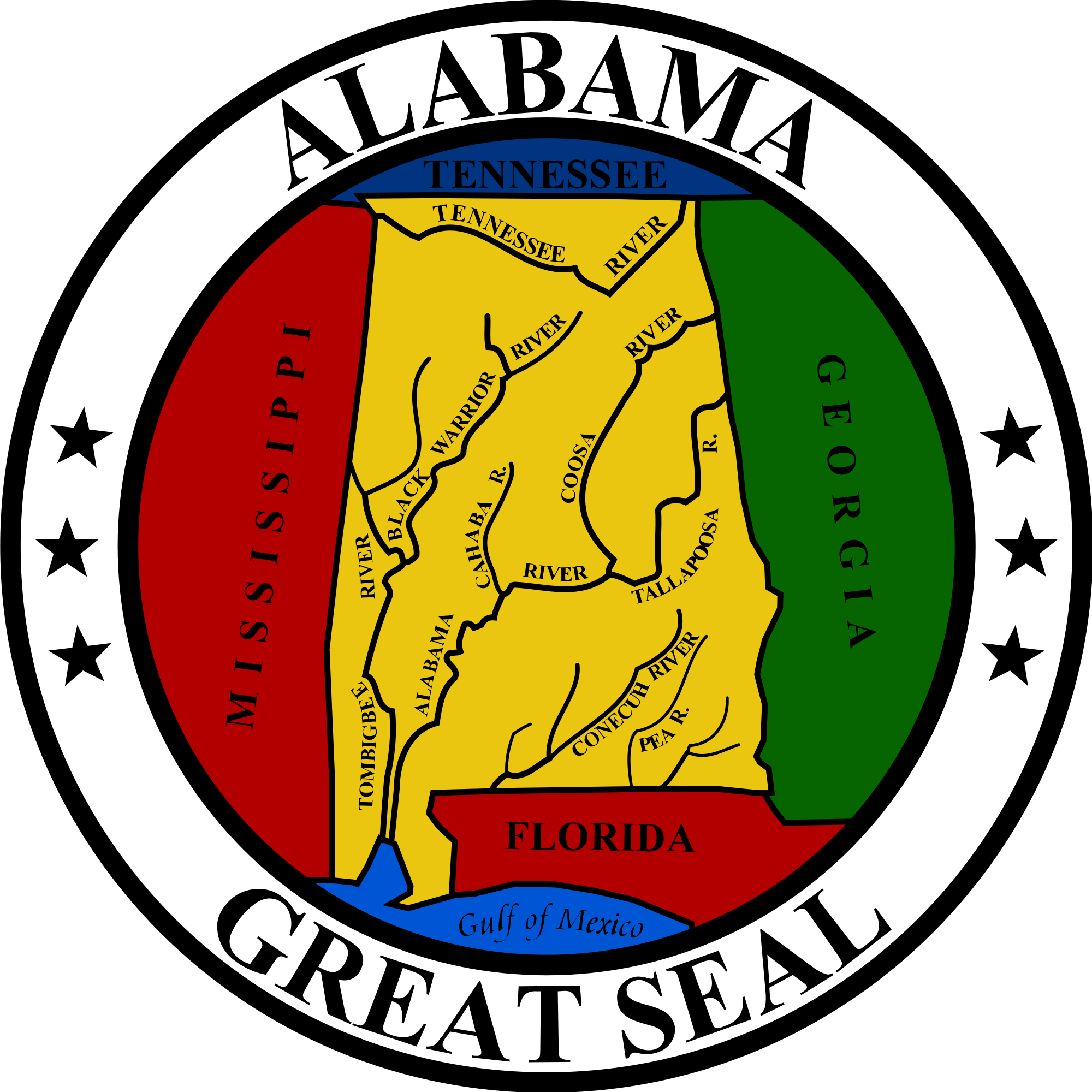 Great seal of florida png. File alabama svg wikimedia