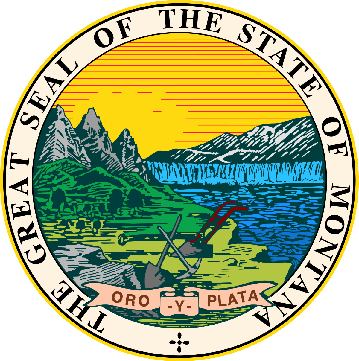 Great seal of florida png. Montana wikipedia
