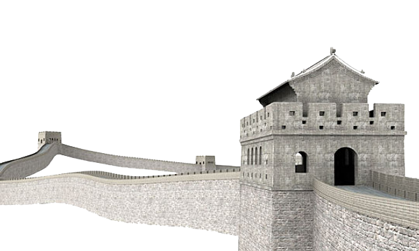 Great wall of china png. Clipart mart