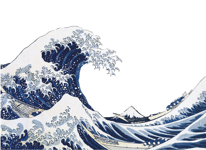 Great wave png. Transparent by xtriglav on