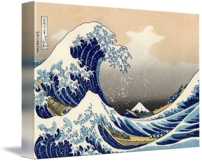 Great wave png. The off kanagawa by