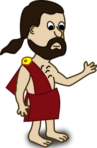 Toga drawing ancient greek. Free man cliparts download