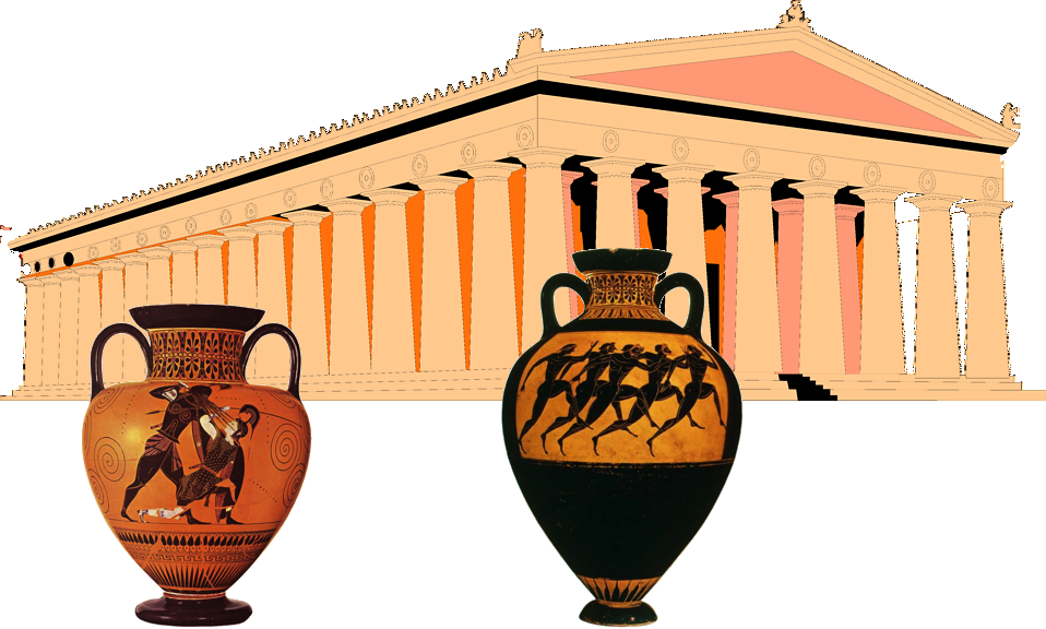 Greece clipart warriors. Greek ancient world frames