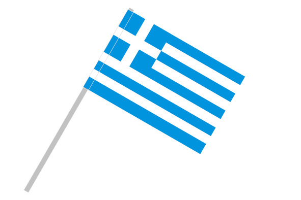 Greece flag png. With flagpole tunnel buyflags