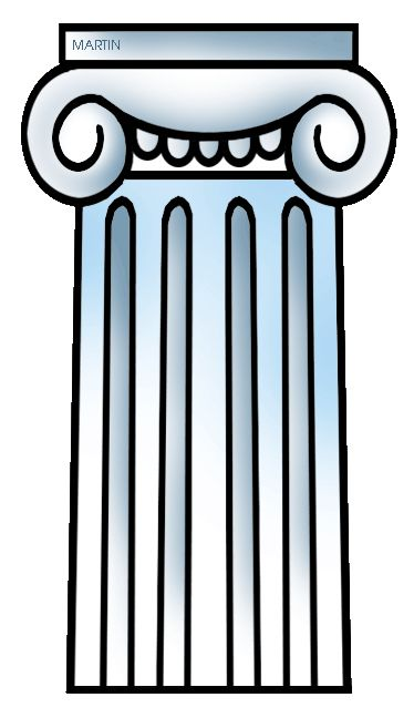 greek clipart ionic column