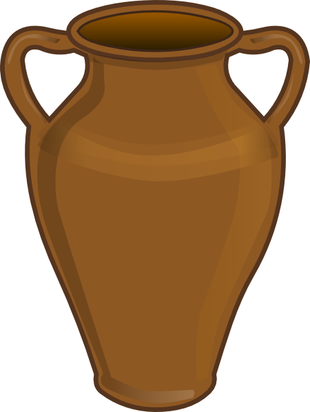 Jar clipart large. Clay clip art at