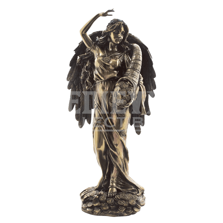 Greek god of wealth statue png. Lady fortuna wu from