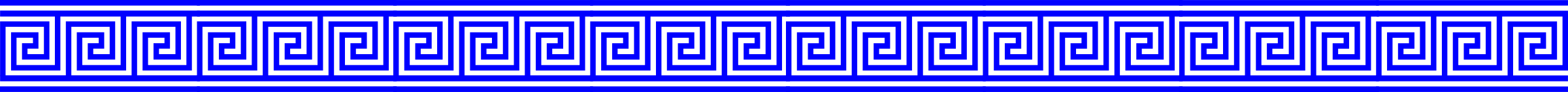 Greek key border png. Blue with lines icons