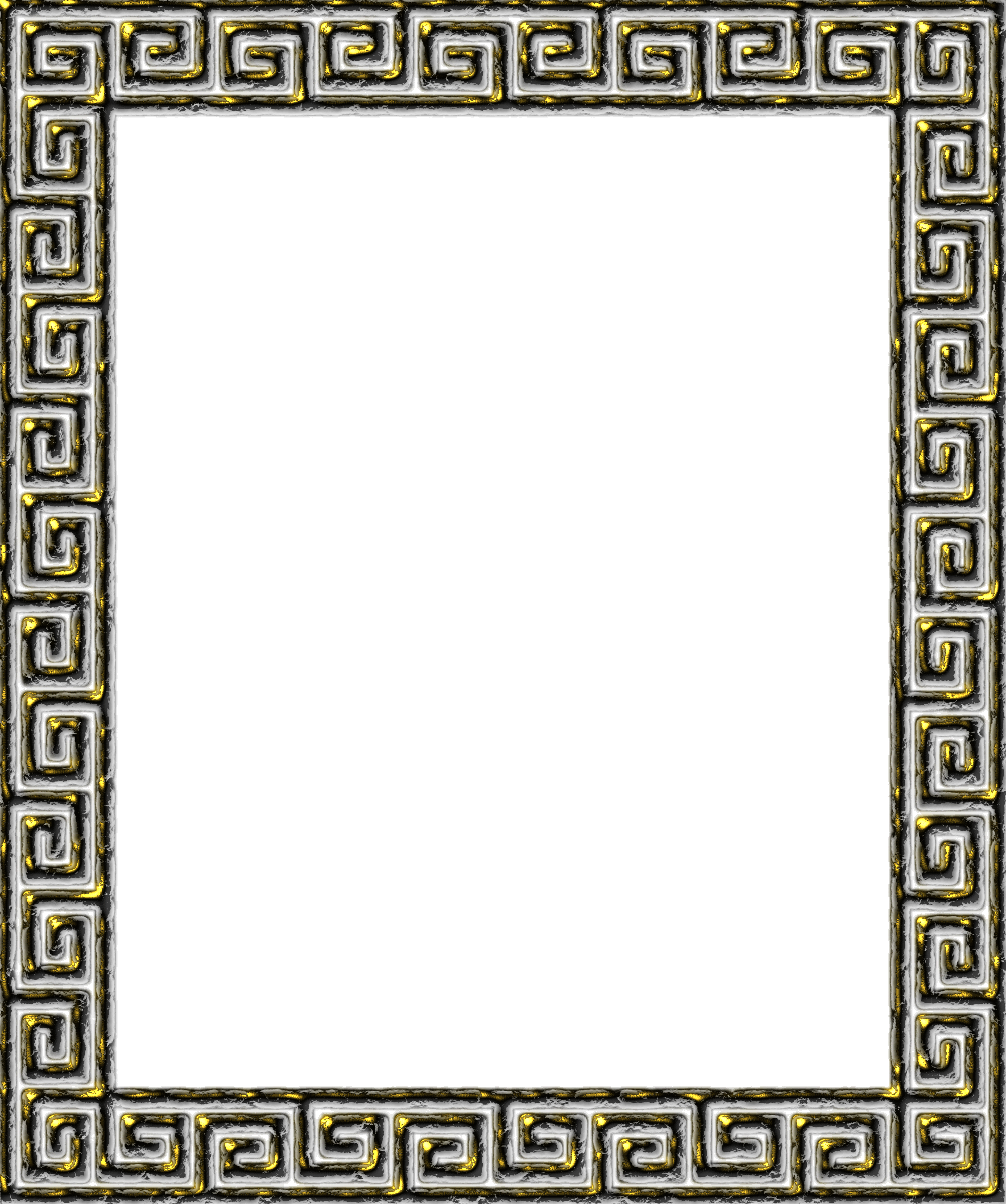 Greek key border png. Frame icons free and