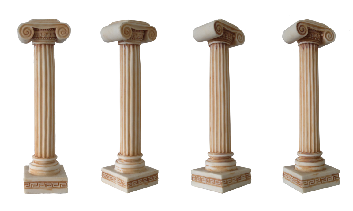 Pillar transparent greek. Png image