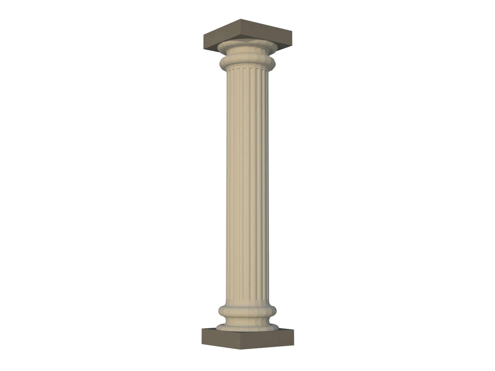 Greek pillar png. By dustynus thingiverse aug