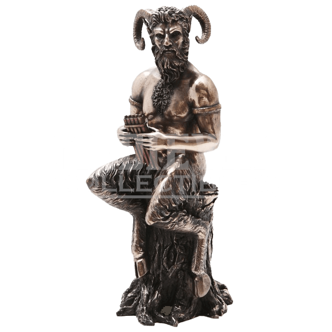 Gorgon drawing hermes statue. Medieval collectables mythology statues