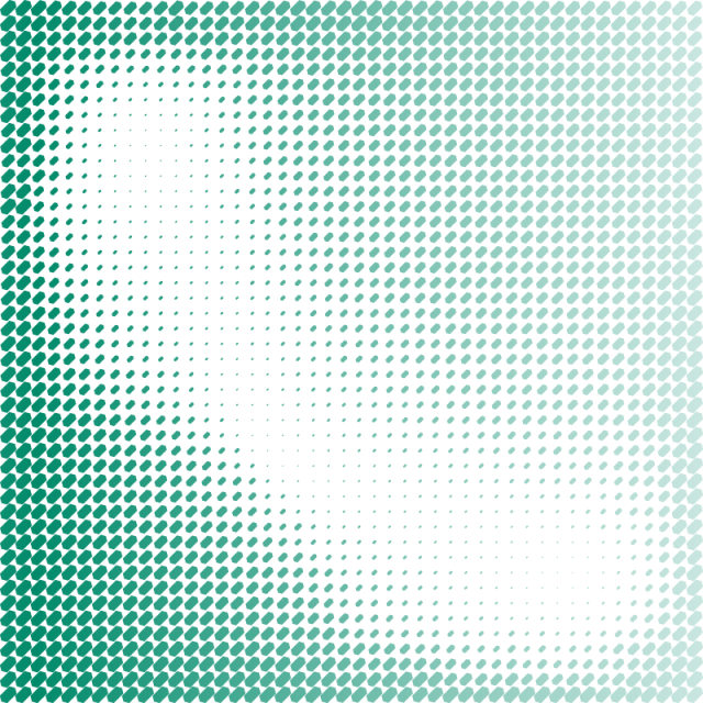 Green abstract background png. With hexagon halftone pattern